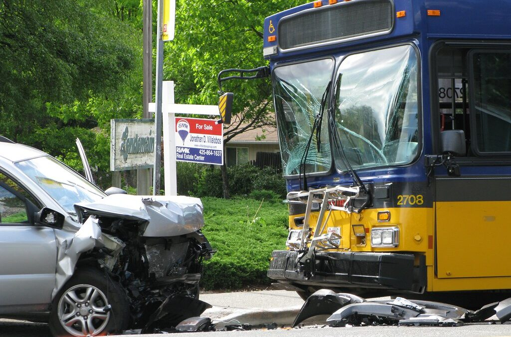 Lowell Bus-Car Crash Leaves 6 Injured