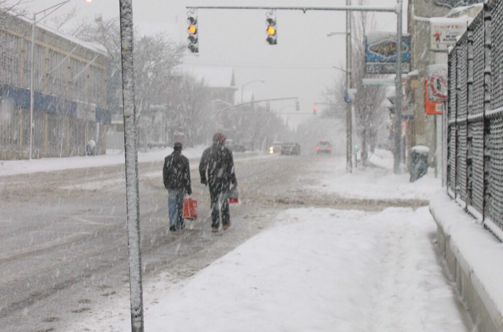When winter hits, pedestrians could end up in trouble