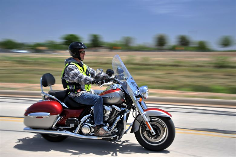 How can sudden-stop motorcycle collisions be avoided?